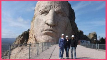 Native American hero monument for Crazy Horse almost finished after 70 Years